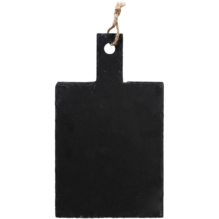 This board can be used for a variety of purposes. It is made of slate.