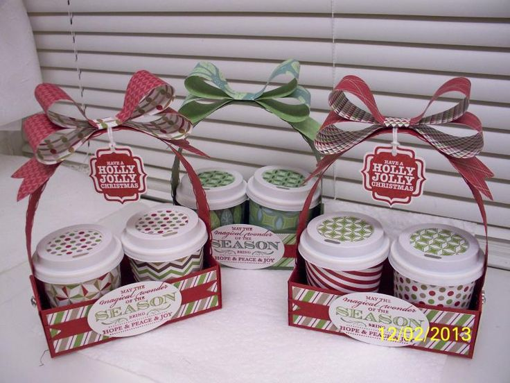 Mini Coffee Cups by D. Daisy - Cards and Paper Crafts at Splitcoaststampers