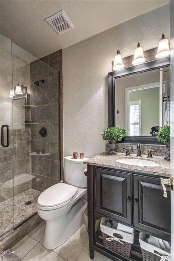 Fresh And Stylish Small Bathroom Remodel Add Storage Ideas B A Master Bathroom Makeover Small Master Bathroom Bathroom Remodel Master