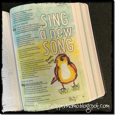 Bible Art New Song