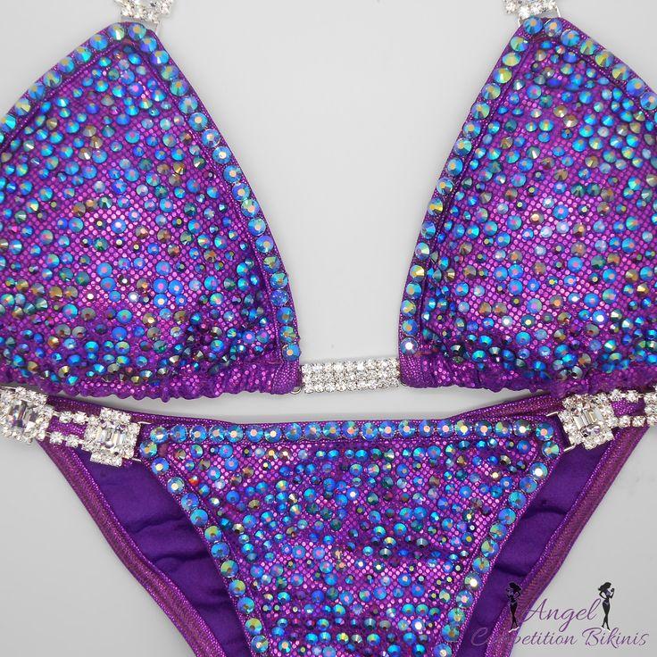 Sapphire and Purple Confetti