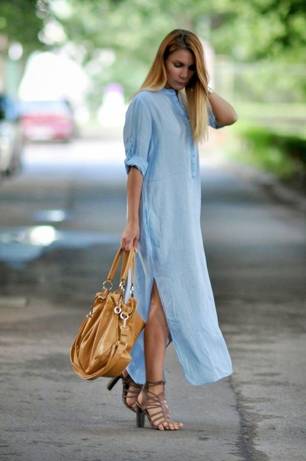 Long casual dress styles