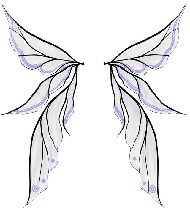 Fairy Wings Drawings | Fairy Wings Colored by Himwath