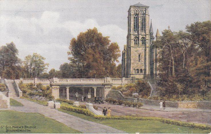 BOURNEMOUTH BY A.R. QUINTON NO. 3004 - ST STEPHEN'S BRIDGE | eBay