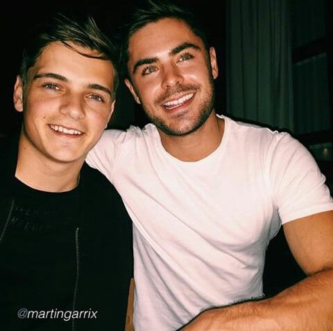 Martin garrix and zac efron