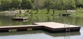 floating dock trim