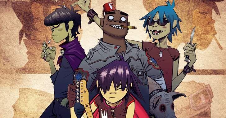 Gorillaz – Série animada do grupo musical é oficialmente anunciada!