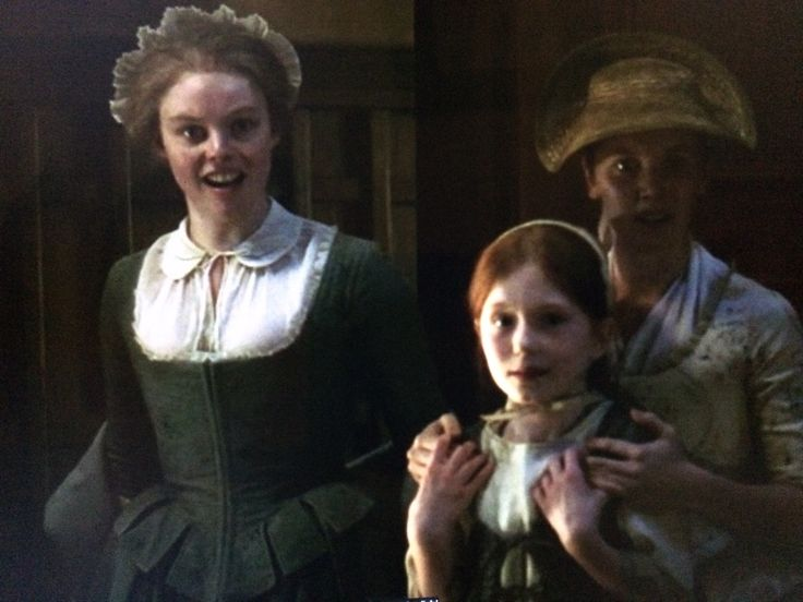 """Laoghaire and daughters - Outlander Season 3 - Episode """"First Wife"""""""