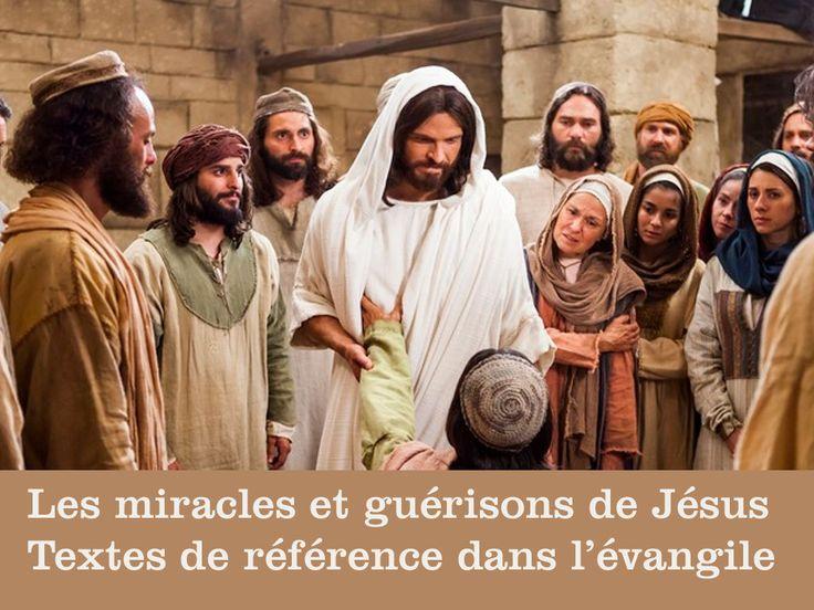 Textes de référence : les miracles de Jésus dans l'évangile Au temps de Jésus, les malades étaient nombreux : des boiteux, des aveugles, des sourds-muets, des paralysés, des lépreux ... Ils étaient obligés de mendier. Il y avait peu de médecins. Ceux-ci...