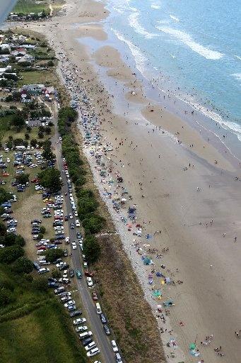 Waimarama beach, Hawkes Bay, New Zealand