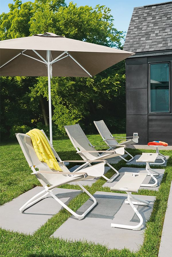Our Verano Outdoor Deck Chair Is Lightweight And Foldable, And Adjusts To  Two Sitting Positions So You Can Sit Or Lounge In Total Comfort.