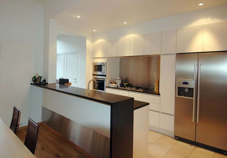 17 best images about amerikaanse koelkasten inbouw on pinterest home design house interiors - Cuisine style americain ...