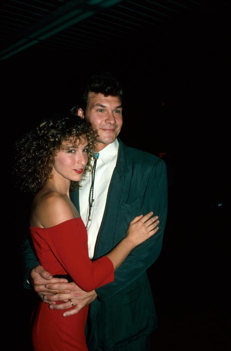 Patrick Swayze & Jennifer Grey at the Dirty Dancing Premiere August 17th, 1987
