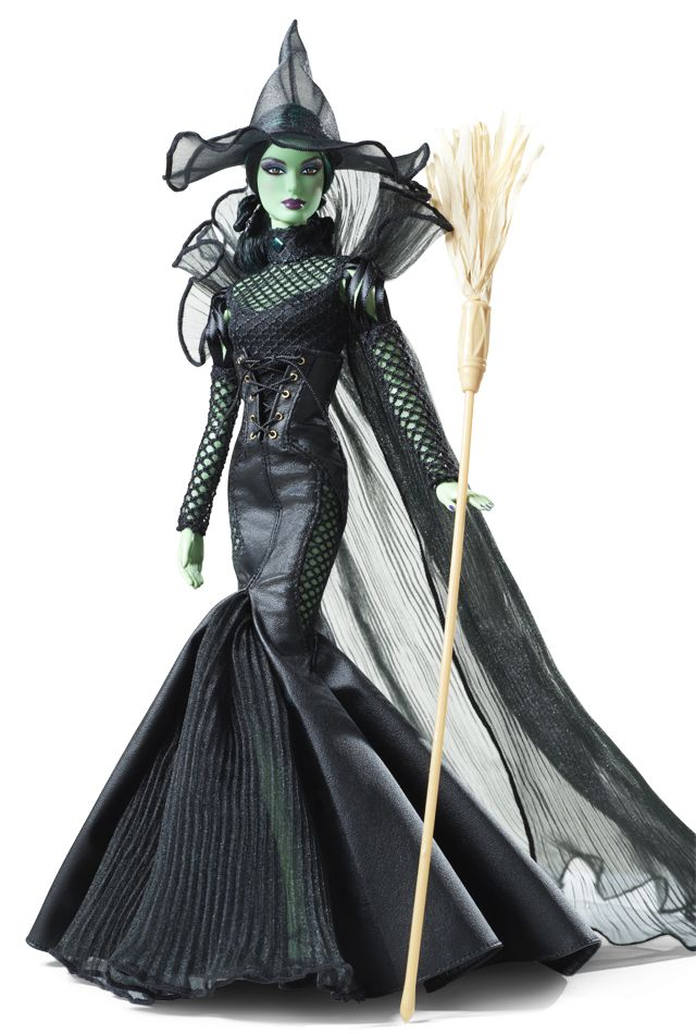 The Wizard of Oz Fantasy Glamour Wicked Witch of the West Doll - 2014 Fantasy & Special Occasion Dolls - Barbie Collector #TheWizardofOz