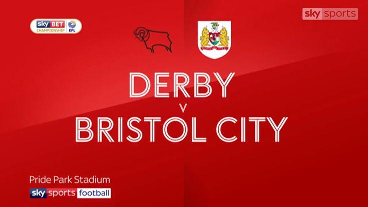 Derby County - Bristol City Geniş Maç Özeti 19.01.2018