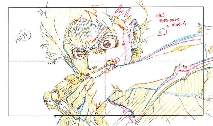 "artbooksnat: ""Attack on Titan (進撃の巨人)Original animation ..."