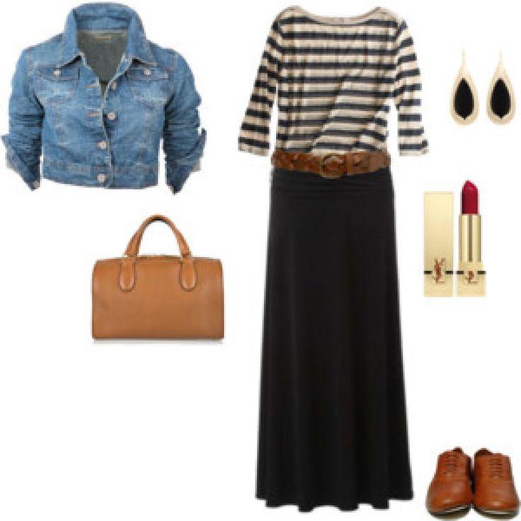 Look de la semana: falda larga   Cuidar de tu belleza es facilisimo.com