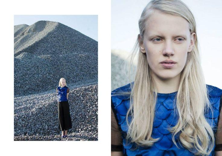 Clothes: Gabrielle Tamasciuk Photo: Agne Bekeraityte Model: Evelina (Image group)