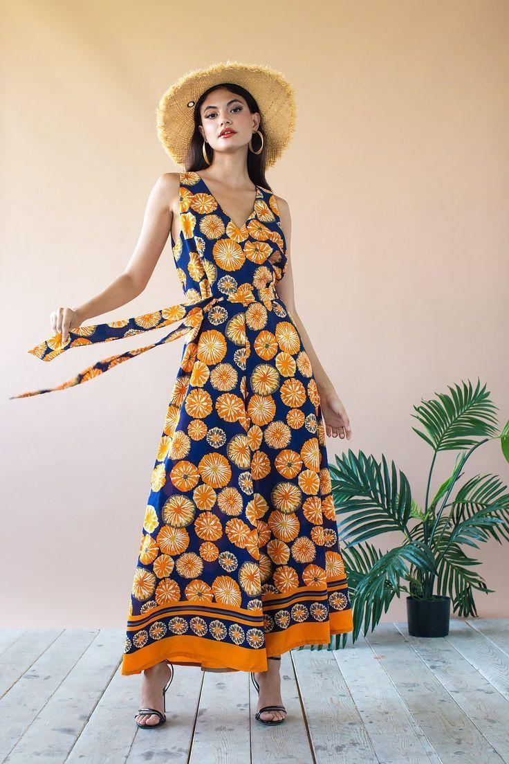 Sunny Jumpsuit Sunburst   Inspiration og Symønstre