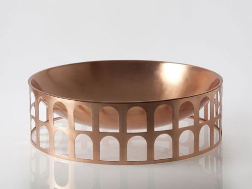 The Highlight Of The Family Of Robust, But Delicate Pieces Is A Symbolic  Bowl,