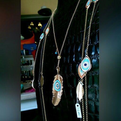 κατάστημα mánia, Πυλαρινού 37, Κόρινθος https://www.facebook.com/mania.korinthos #mániashop #Korinthos #bijoux #accessories #leaf #eye #ss15 #giftideas #fashionisagame