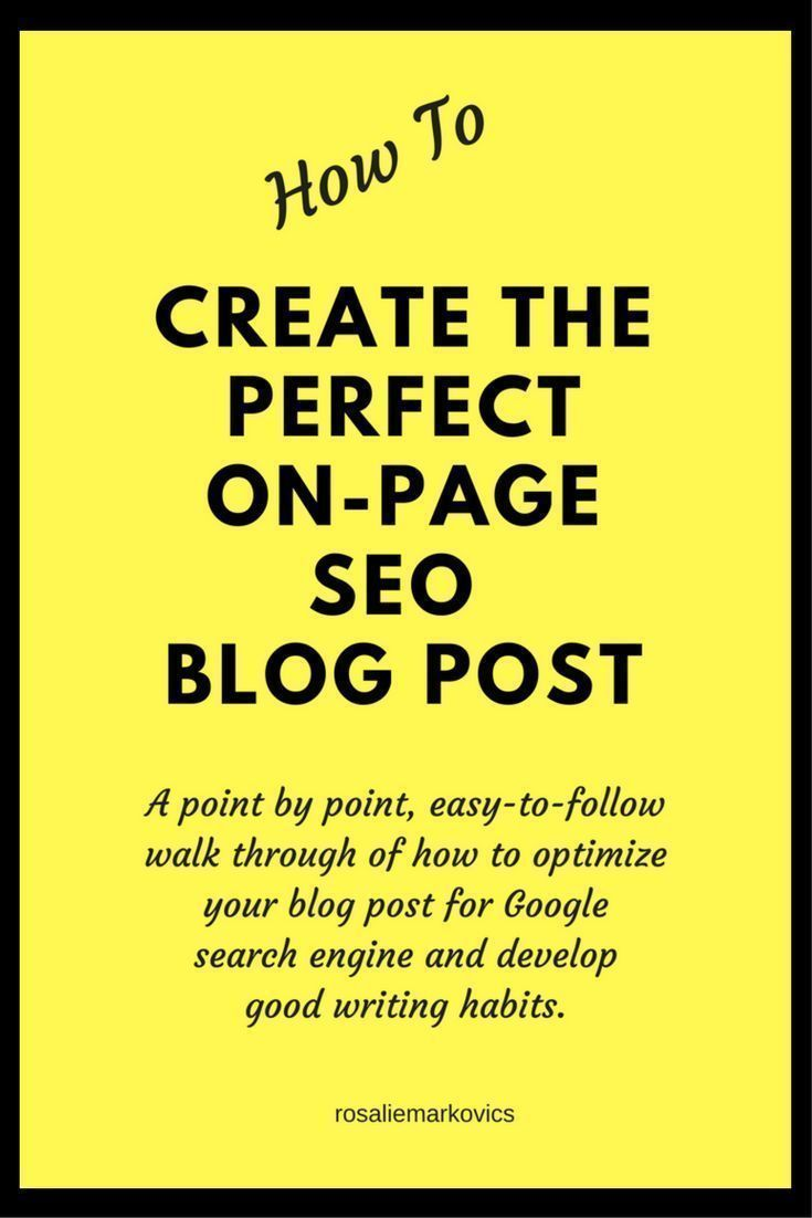 The Perfect Post-Important checklist of elements to include in your post before you publish #checklist #post #blog  #seo #pageoptimisation https://hotmarketingtipsandtools.blogspot.com.au/2017/04/the-ultimate-checklist-for-perfect-post.html