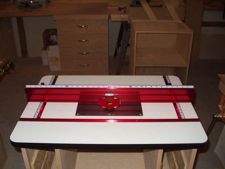 how to set a router table