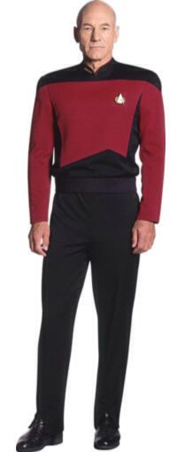 "Heroes Of Star Trek : Patrick Stewart As Captain Jean Luc Picard from ""Star Trek The Next Generation"""