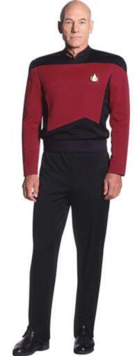 "Heroes Of Star Trek : Patrick Stewart As Captain Jean Luc Picard from ""Star Trek The Next Generation"""