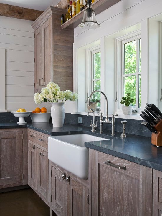 Contemporary kitchen design pictures remodel decor and ideas page 84 kitchens pinterest for Soapstone bathroom accessories
