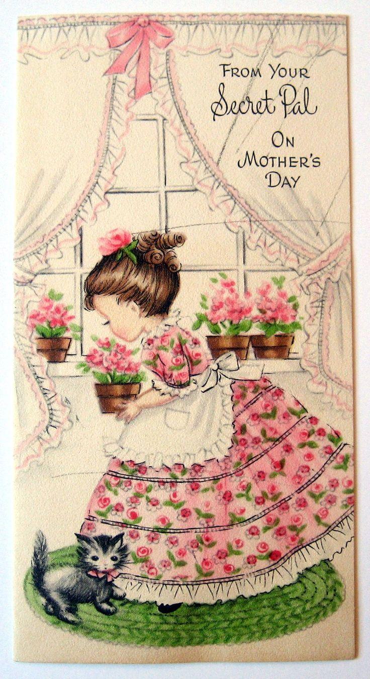 Сладкие Старинные открытки