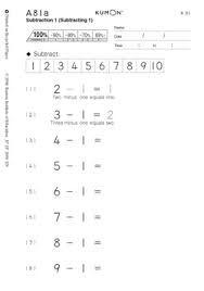 Kumon answer book level d2 english