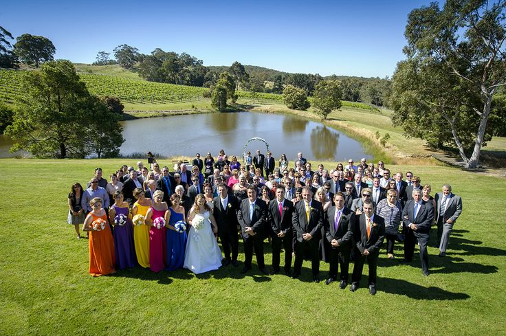 Country Victoria Wedding at Lancemore Hill, in the Macedon Ranges. Marc Grist Photography