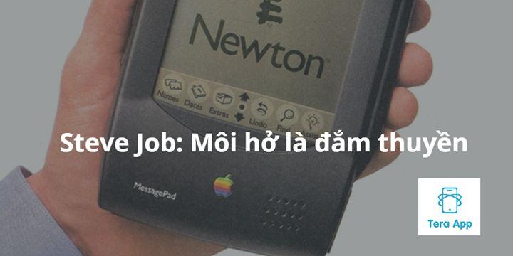Tại sao Apple thời Steve Job luôn kín tiếng về những sản phẩm khi chưa ra mắt: Môi hở là đắm thuyền :)  Trước Iphone Newton là thiết bị cảm ứng và nhận dạng chữ viết tay đầu tiên của Apple. Nó định nghĩa và mở đầu cho thị trường PDA có giá trị gần 3 nghìn tỷ USD vào cuối thập niên 90. Nhưng đến cuối cùng Apple lỗ 11 tỷ USD trên chính thị trường do mình khai phá.  Nóng vội và quá tự tin là nguyên nhân chính dẫn đến thất bại này. Trong phiên bản mẫu dùng thử đầu tiên Newton gặp 1000 lỗi. Ngay…