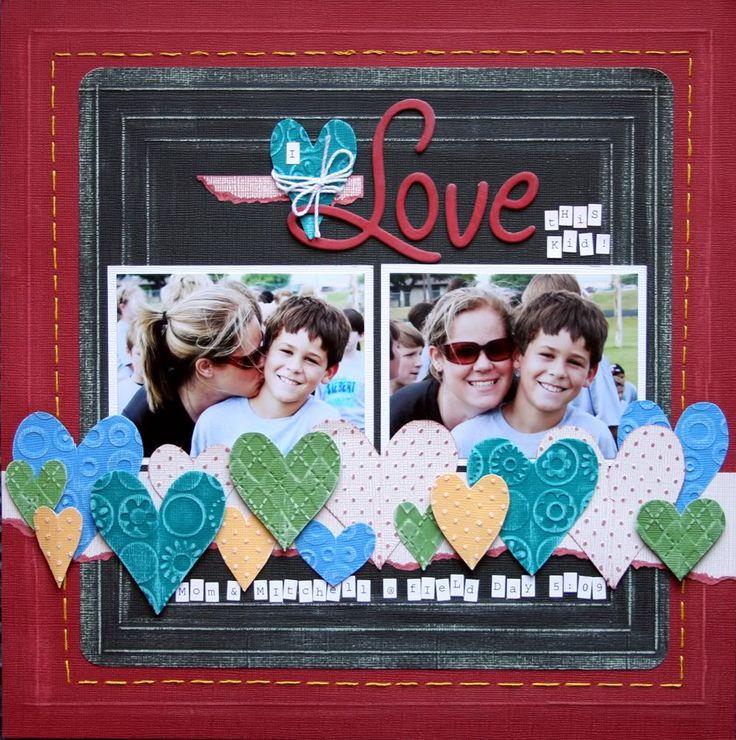 59 Best Valentines Day Scrapbooking Images On Pinterest Scrapbook