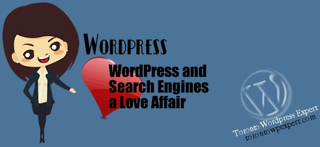 wordpress and search engines