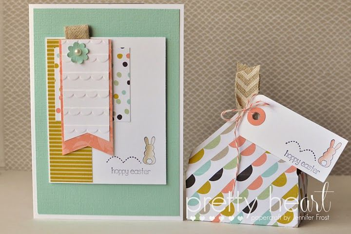 Eggstra Spectacular -- Pretty Heart, Papercraft by Jennifer Frost: Hoppy Easter - School Holiday Mini Session