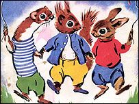 Tufty....Stop,Look,Listen. I so loved Tufty...I remember spending hours looking at the annuals.