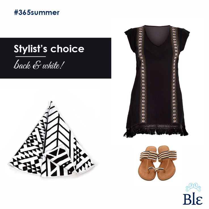 What to bag for your exotic getaway? The black & white combo is classic, impressive and chic. Select it on a mini-dress, your beach towel and everyday sandals! Find the products at www.ble-shop.com #BleResortCollection #StylistsChoice #365Summer #Style #BlackAndWhite