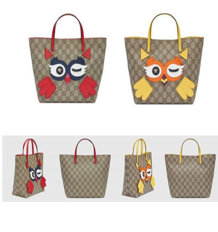 Gucci GG Children Owl Tote fashion baby girl pet bag #ad