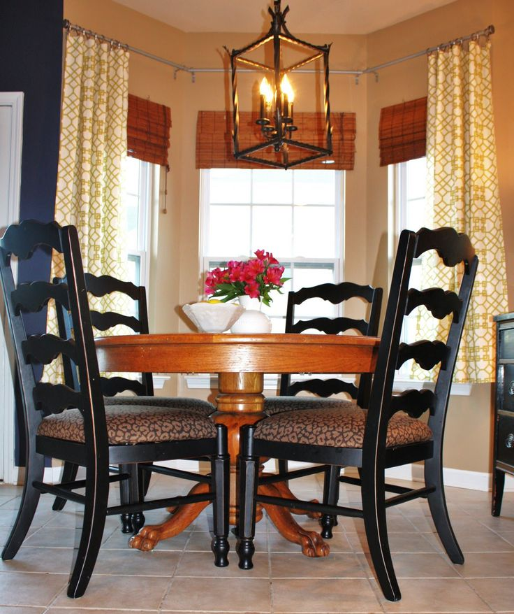 Curtains For Dining Room Windows: How To Hang Curtains On Angled Windows