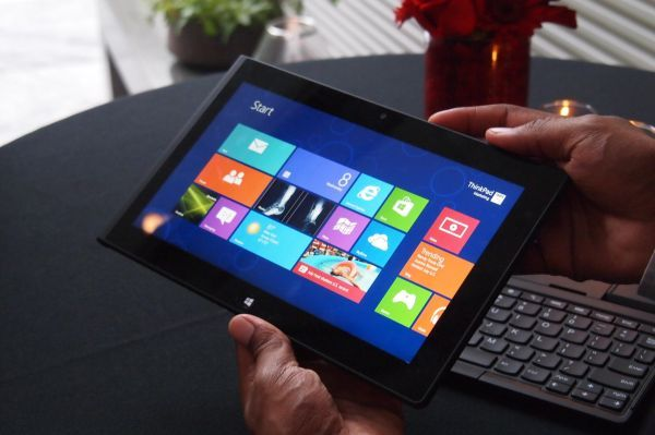 Lenovo ThinkPad Tablet 2 impressions: The first real Windows 8 tablet