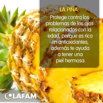 #Piña #Fruta #Ojos