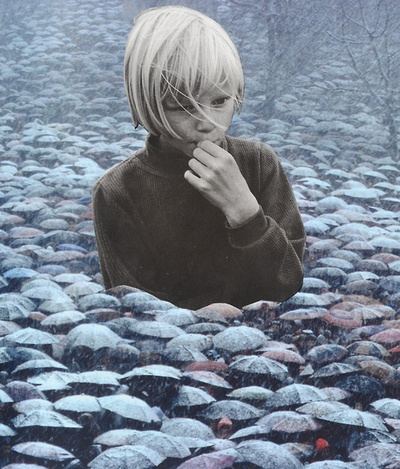 untilwemeetagain: wryer: Handmade Collage by Djuno Tomsni