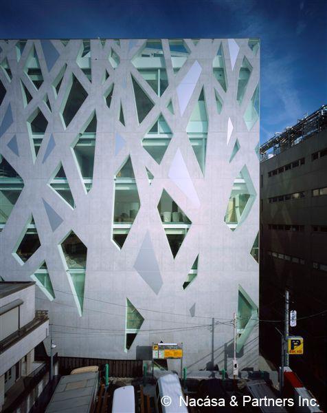 TOD's Omotesando Building. Toyo Ito
