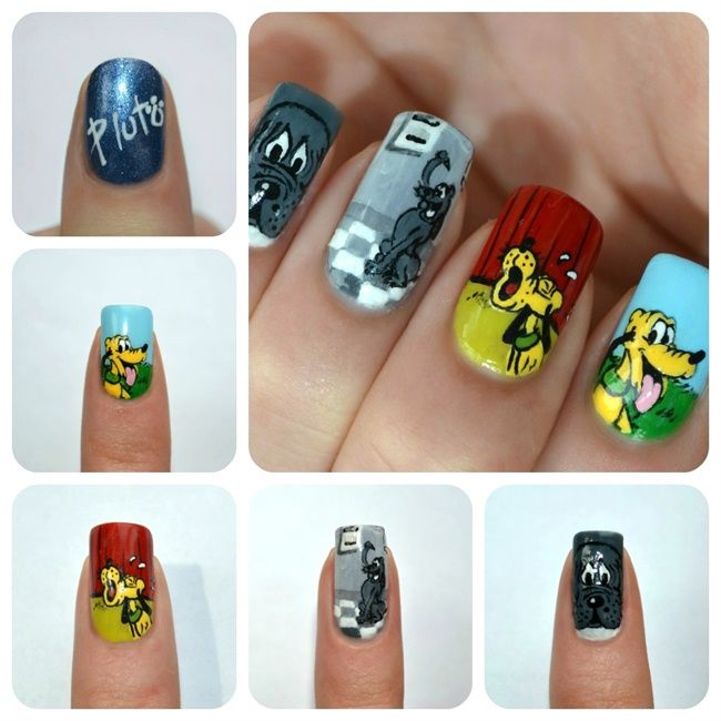 The Evolution of Pluto Disney Manicure