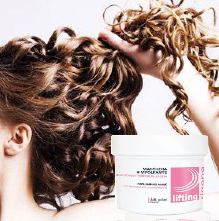 #Lifting per i #capelli? Da oggi puoi con la linea #RigenaLifiting! Utilizza la #maschera per reidratare i capelli, districarli e donargli nuova elasticità!