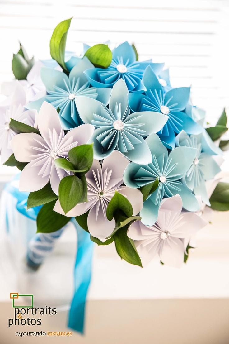 44 best ramos de novia images on pinterest marriage bridal ramo de novia con flores de papel bodasenelcaribe origami weddingbouquetpaper flowerspaper dhlflorist Image collections