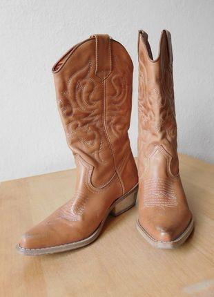 Kup mój przedmiot na #vintedpl http://www.vinted.pl/damskie-obuwie/kozaki/11675276-jaguar-skora-naturalna-skorzane-kowbojki-38