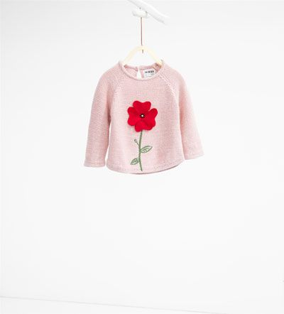 Image 1 of Poppy knit sweater from Zara